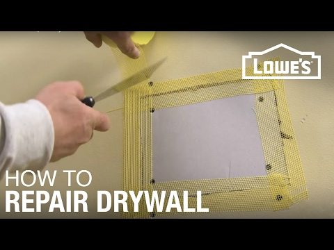 How To Repair Drywall You