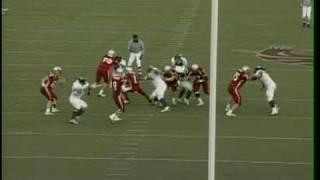2009 -JACKIE BATES - CB - NFL DRAFT PROSPECT - PART 2