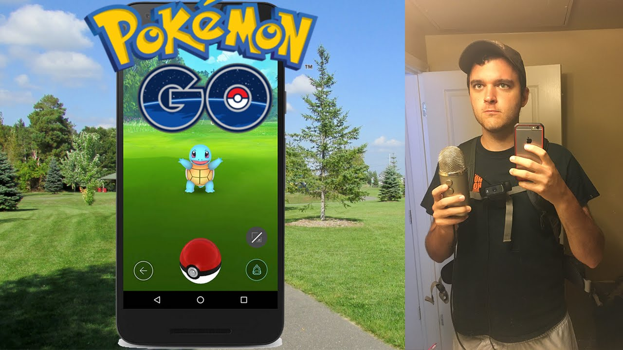 POKEMON GO IN REAL LIFE (LIVE IN A PARK DON'T LAUGH AT ME) - POKEMON GO IN REAL LIFE (LIVE IN A PARK DON'T LAUGH AT ME)