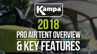 Kampa | 2018 Pro AIR Tents | Key Features | Overview