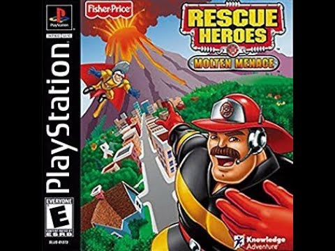 Rescue Heroes: Molten Menace PlayStation Playthrough