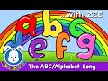 The Alphabet Song with lyrics | Nursery Rhymes