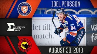 Joel Persson | One Goal vs Bern | Aug. 30, 2018