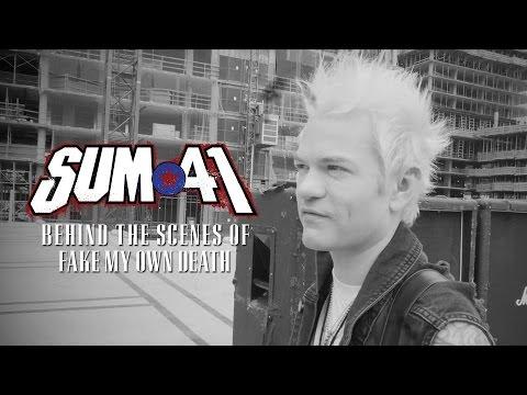 Sum 41 - Fake My Own Death (Behind the Scenes)