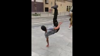 Guy Slams Hard After Failing A Skateboard Stunt