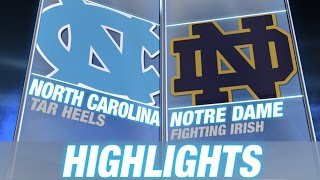 North Carolina vs Notre Dame | 2015 ACC Men