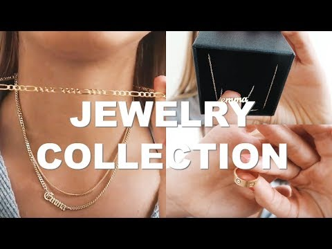 MY JEWELRY COLLECTION   what I wear everyday
