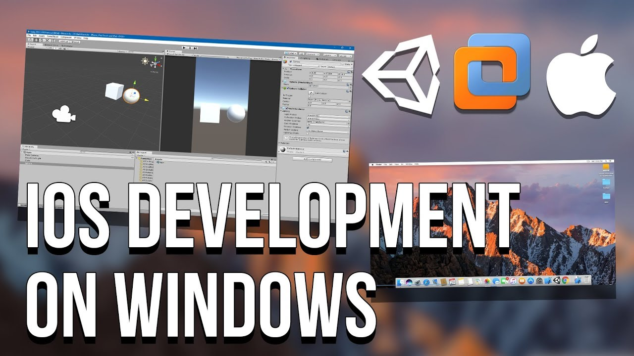 [Unity3D] Develop iOS Apps on Windows, Build on Virtual Machine