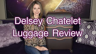 """DELSEY PARIS CHATELET 24"""" HARD SPINNER SUITCASE OVERVIEW & REVIEW (LUGGAGE)"""