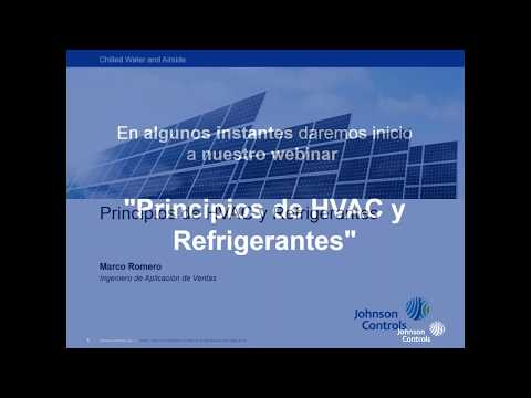 Principios de HVAC Heating Ventilation Air Conditioning y Refrigerantes