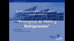 Principios de HVAC Heating Ventilation Air Conditioning y Refrigerantes