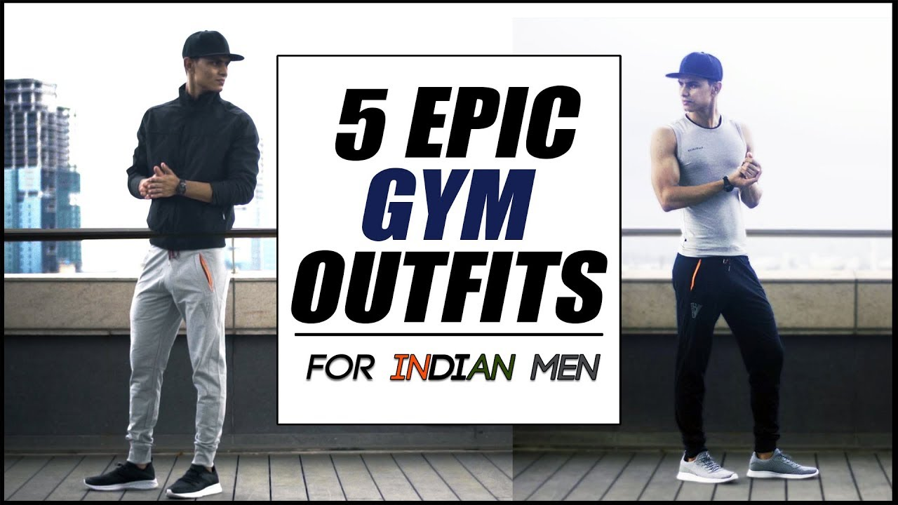 Stylish look at the gym