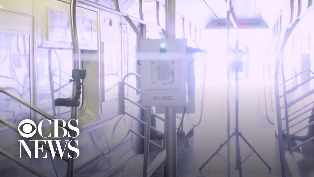 New York City testing ultraviolet lights to kill coronavirus on subways and buses