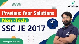 SSC JE 2017 Paper Solution | s…