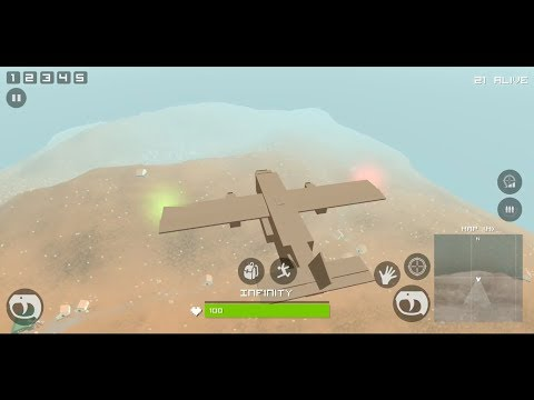 Grand Pixel Royale Battlegrounds Mobile Battle 3D Android Gameplay