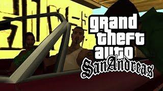 GTA SAN ANDREAS #6 - Corrida De Carros Com Amigo Novo Do CJ (PC Pro Gameplay em Português PT-BR)