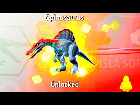 LEGO Jurassic World How to Unlock Spinosaurus, Amber Brick Location ...