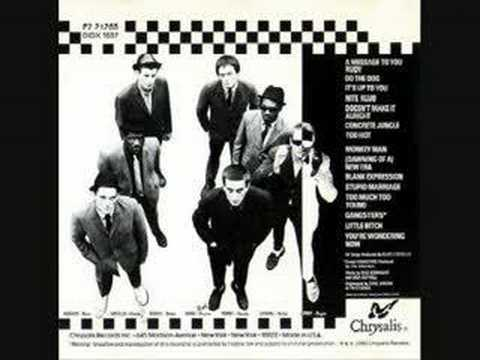 the specials blank expression