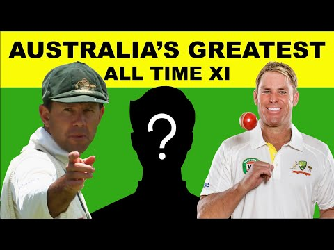 Australia's All Time Greatest Test XI