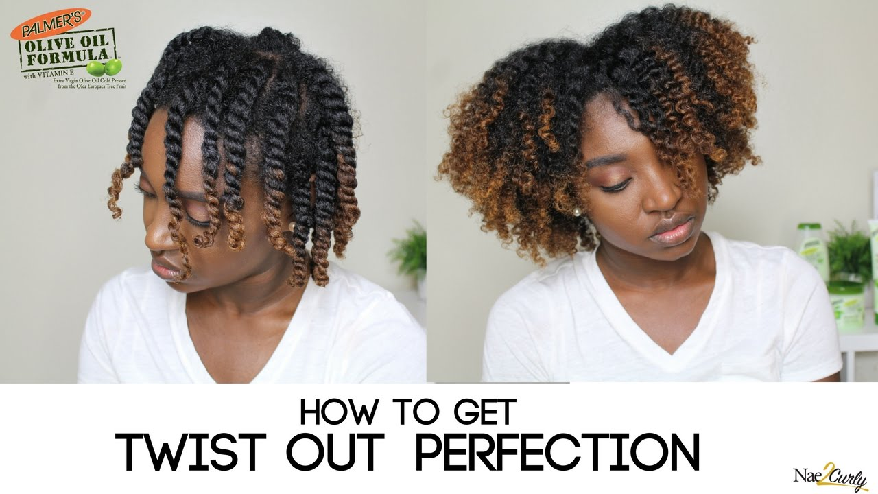 Twist Out On 4b4c Hair Palmers Olive Oil Formula YouTube