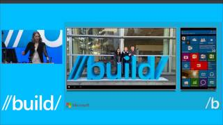 BUILD 2015 Continuum session - Windows Phone as a PC