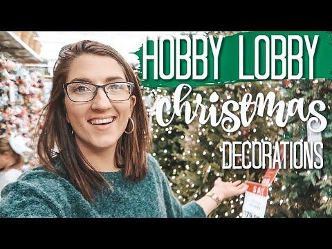 CHRISTMAS SHOP WITH ME 2019 | HOBBY LOBBY | vlog