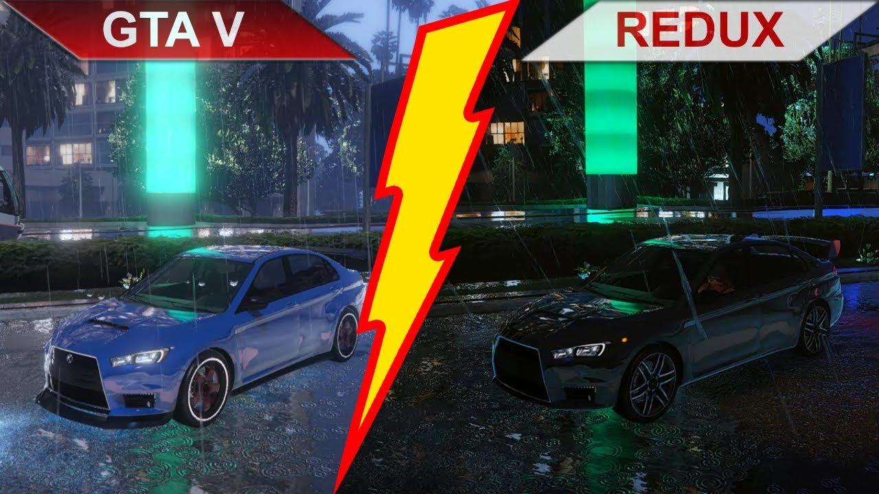 GTA V - Original vs  REDUX | 2019 | Part 2