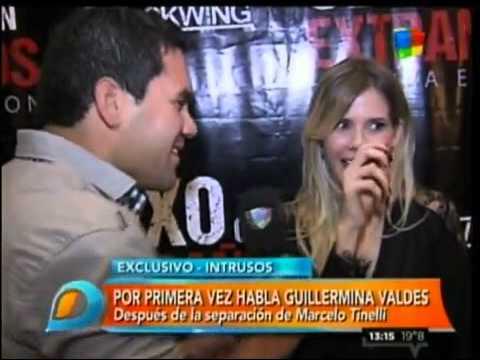 Guillermina Valdés habló de su separación de Tinelli: Con Marcelo está todo bien