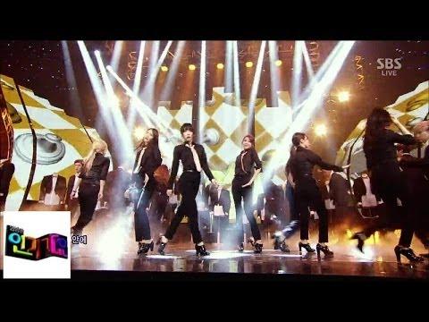 [Girls 'Generation]' Mr.Mr 'Mr. Mr @ Popular Inkigayo 140323