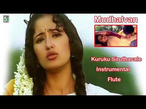 Kurukku Chiruththavale Instrumental Flute | Mudhalvan | Arjun | Manisha Koirala