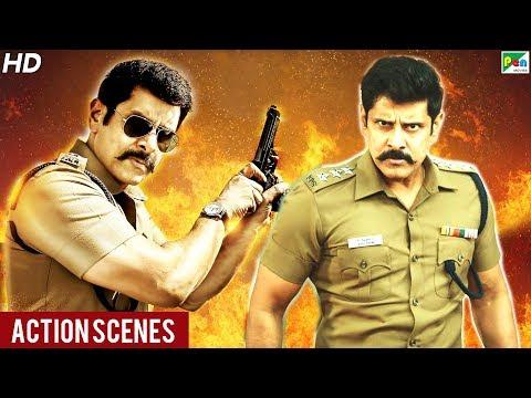 Saamy² Best Action Scenes | New Released Full Hindi Dubbed Movie | Vikram, Keerthy Suresh, Aishwarya