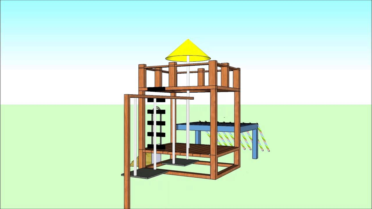 Awesome juegos de jardin para nios madera contemporary for Casa madera jardin