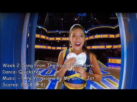 💃 Mackenzie Ziegler - Dancing With The Stars: Juniors Performances