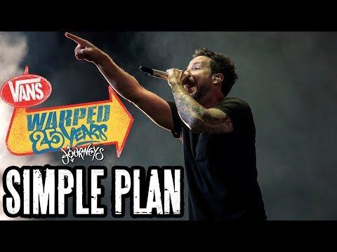 Simple Plan - Full Set (Live Vans Warped Tour 2019) Warped 25 Years