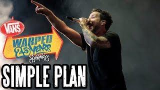 Gambar cover Simple Plan - Full Set (Live Vans Warped Tour 2019) Warped 25 Years