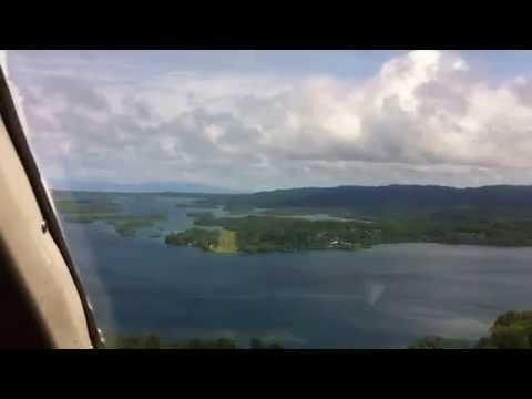Seghe Airfield Landing (Western Province,Solomon Islands)