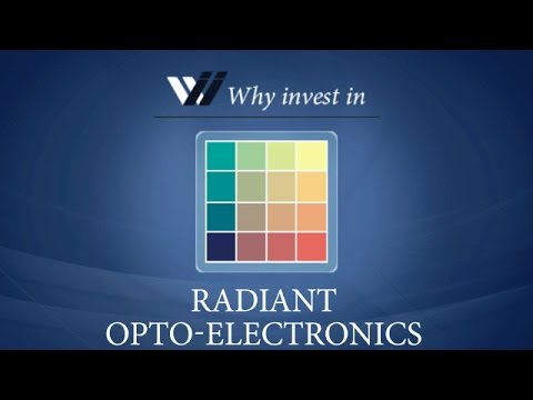 Radiant Opto Electronics - Why invest in 2015