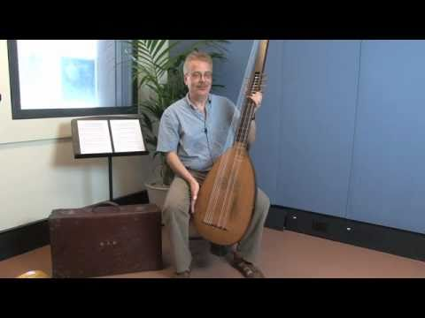 ANDREAS SCHOLL: The Theorbo