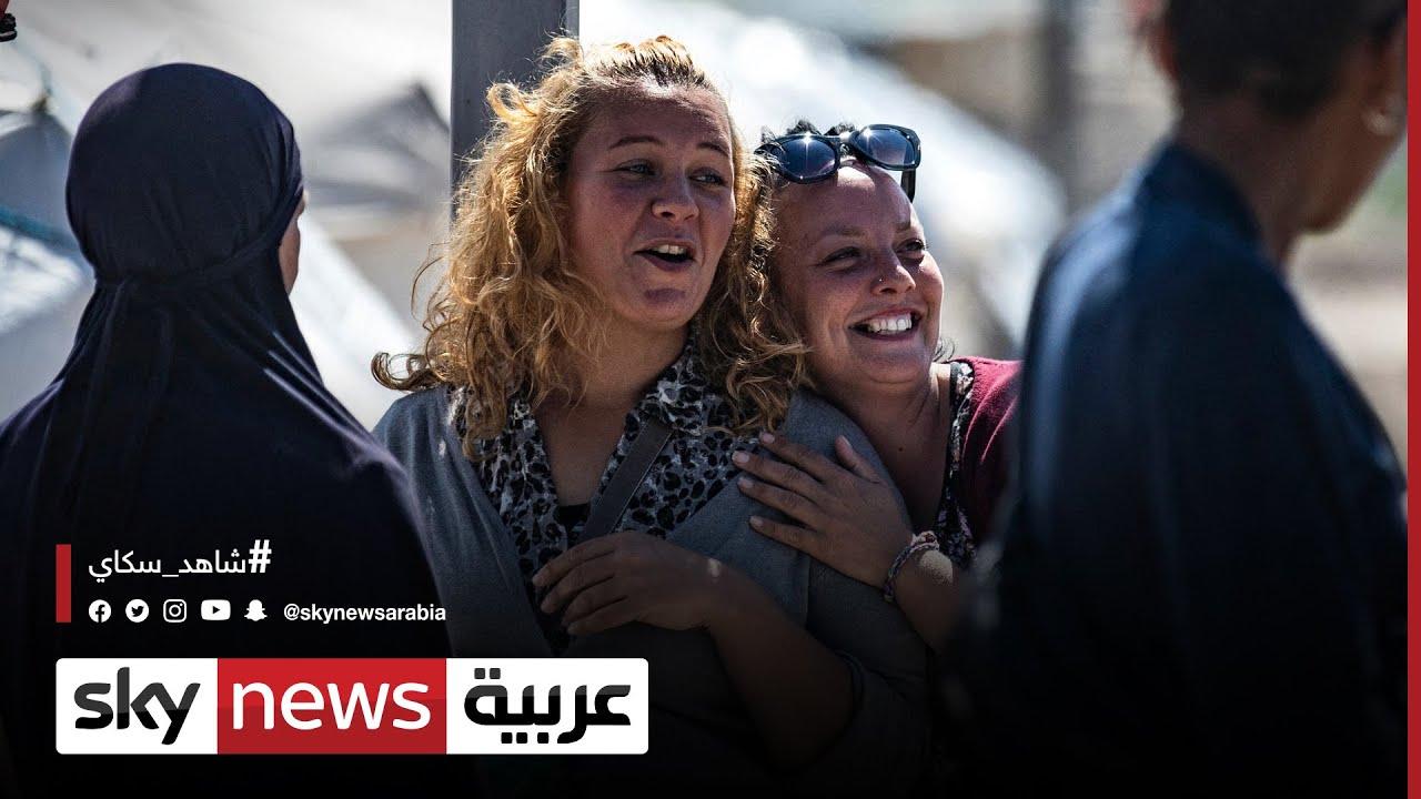 نحو 2500 امرأة وطفل من جنسيات أوروبية يقطنون مخيم -روج- في سوريا | #مراسلو_سكاي  - 12:54-2021 / 9 / 12