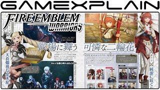 Fire Emblem Warriors - Famitsu Unveils Sakura & Male Corrin