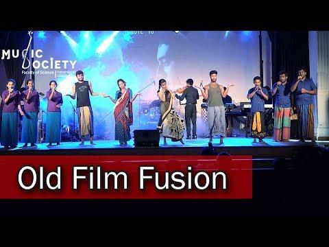 Old film fusion (පැරණි සිනමා ගී) - Naada Nu 2017 - University Of Colombo