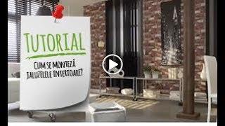 Tutorial VIDEO - Cum se monteaza jaluzelele interioare?