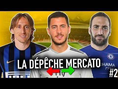 Les DERNIÈRES INFOS Mercato De L'hiver 2019 (LDM #2) | Hazard, Modric, Asensio, Higuain, Etc