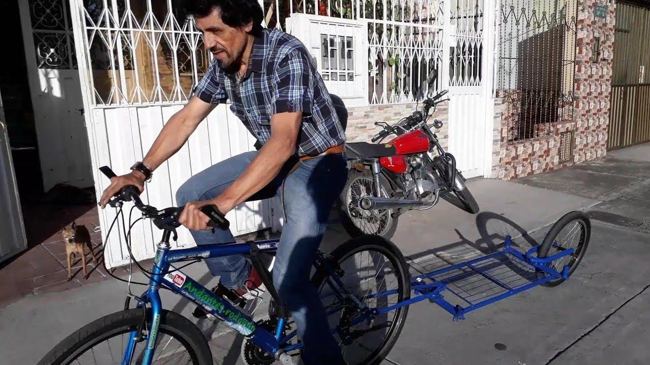 Adventure Desmontable y Plegable Bolsa Impermeable. RBO Remolque de Bicicleta para Carga