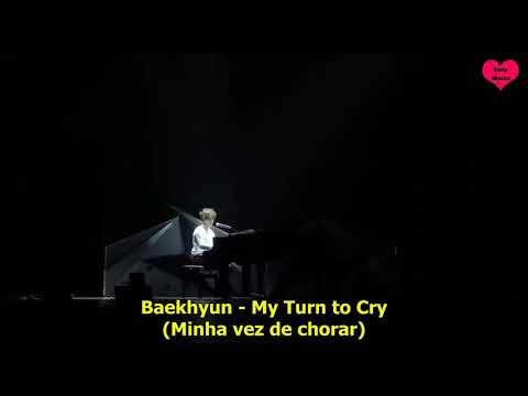 EXO - My turn to Cry / Baby Don't Cry Legendado PT/BR (LIVE)