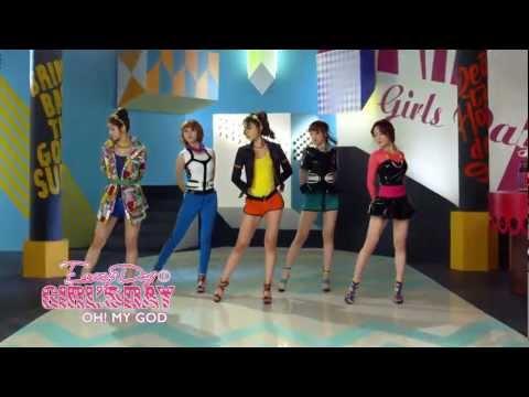 [Vietsub + Kara] Girl's Day - Oh! My God MV