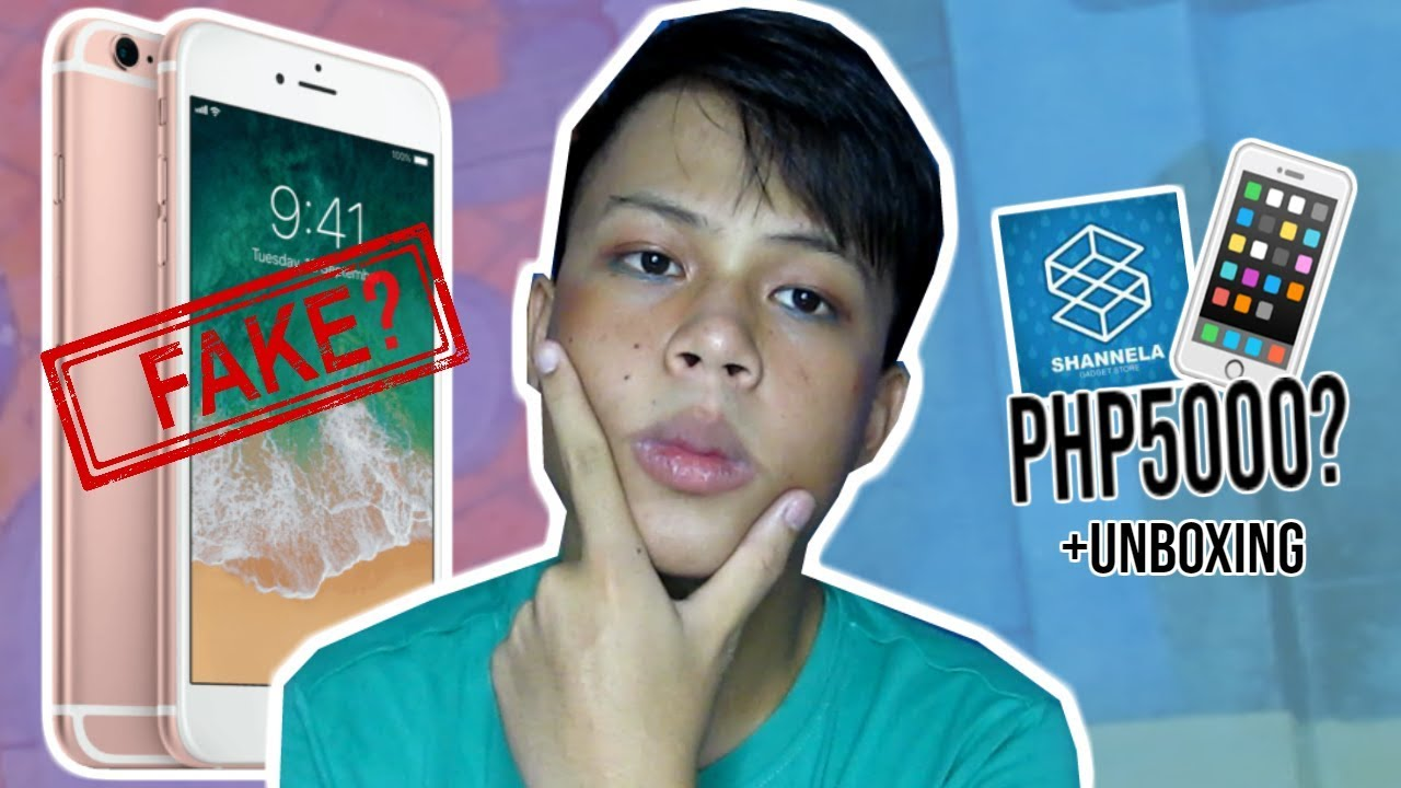 FAKE? IPHONE 6S UNBOXING IN 2019 l WORTH IT PABA?