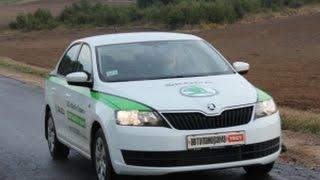 Skoda Rapid рестайлинг обзор тестдрайв Автопанорама