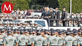 Banderazo a la Guardia Nacional; 'no hay avance en seguridad': AMLO