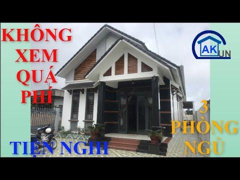 Mẫu nhà cấp 4 mái thái 03 phòng ngủ bố trí hợp lý, tiện nghi đẹp tuyệt –  Nhà đẹp Dakcun